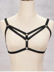 Harness Hollowed Bra Bondage Body Jewelry -