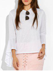 Bell Sleeve Fitted T-Shirt