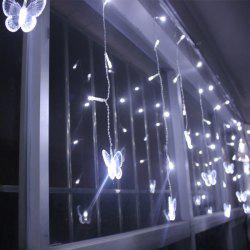Christmas Room Decoration Butterfly Pendant LED String Light