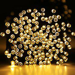 Novelty Solar Power LED String Light Christmas Decoration - WARM WHITE LIGHT