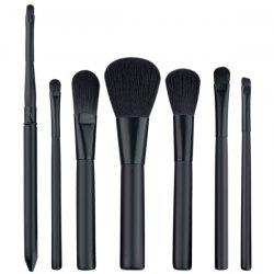 7 Pcs Fiber Facial Makeup Brushes Set