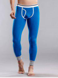 Suture Stripes Color Block Long Johns Pants