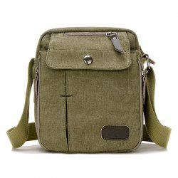 Casual Canvas Corssbody Bag - ARMY GREEN