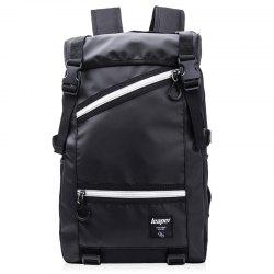 Mesh Spliced Straps Backpack
