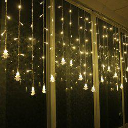 Christmas Tree Pendant LED String Light Indoor Decoration Supplies - WARM WHITE LIGHT
