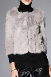 Manteau Slim Fit Fur -