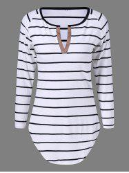 Striped Slim Fit Tee