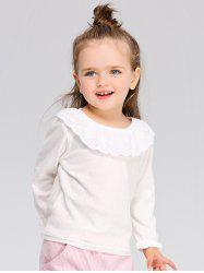 Girls Long Sleeve Flounced T-Shirt -