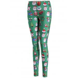 Skinny Santa Claus Leggings -