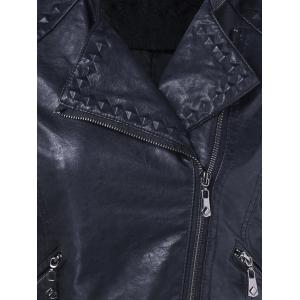 Slim Fit Biker Jacket -