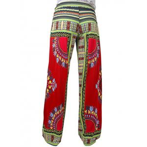 Tribal Print Exumas Pants - COLORMIX 2XL