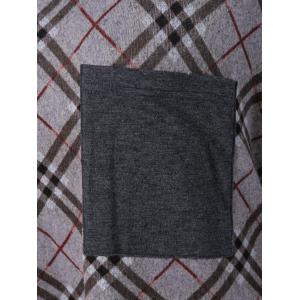 Plus Size Single Pocket Plaid Trim Tee - CHECKED 5XL