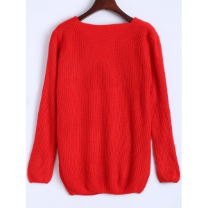 Ribbed Pocket Sweater -