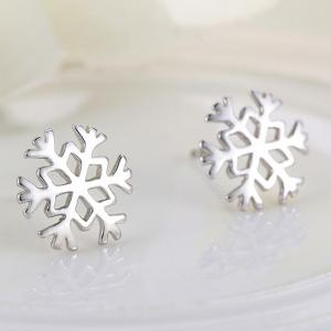Snowflake Earrings -