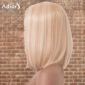 Adiors Medium Highlight Straight Side Parting Synthetic Wig - COLORMIX