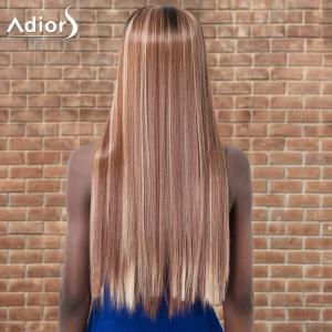Adiors Long Straight Highlight Centre Parting Synthetic Wig -