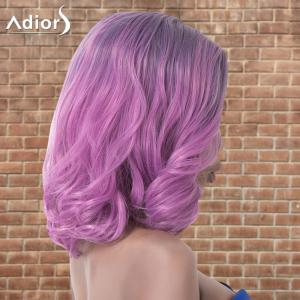 Adiors Medium Layered Wavy Colormix Side Parting Synthetic Wig - COLORMIX