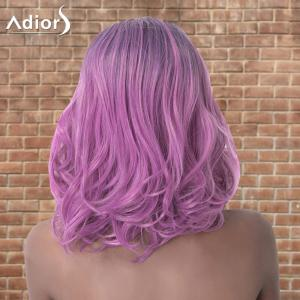 Adiors Medium Layered Wavy Colormix Side Parting Synthetic Wig -