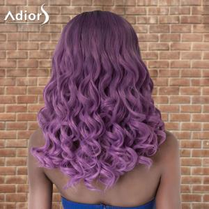 Adiors Medium Shaggy Curly Colormix Centre Parting Synthetic Wig -