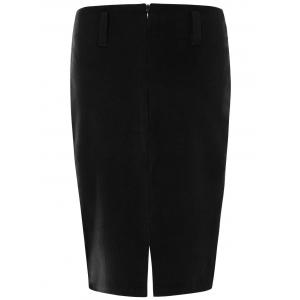 Woolen Pencil Skirt -