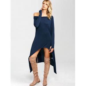 High Low Convertible Off The Shoulder Dress -