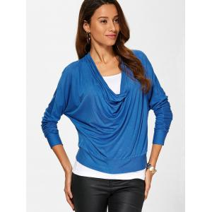 Cowl Neck Tee and Tank Top -
