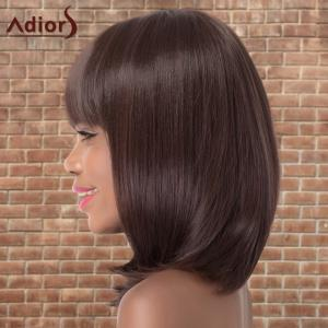 Adiors Medium Neat Bang Straight Colormix Synthetic Wig -