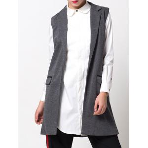 One-Button Fitting Waistcoat