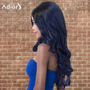 Adiors Highlight Wavy Centre Parting Long Shaggy Synthetic Wig - COLORMIX