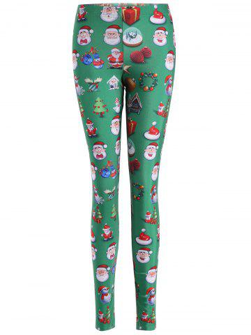 Shops Skinny Santa Claus Leggings