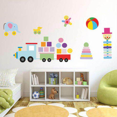 Hot Colorful Toys Removeable Wall Sticker