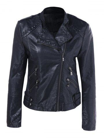 Chic Slim Fit Biker Jacket