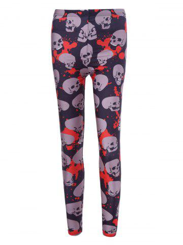 Best Skulls Halloween Leggings