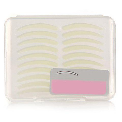 Outfits 100 Pairs Invisible Waterproof Double Eyelid Tapes