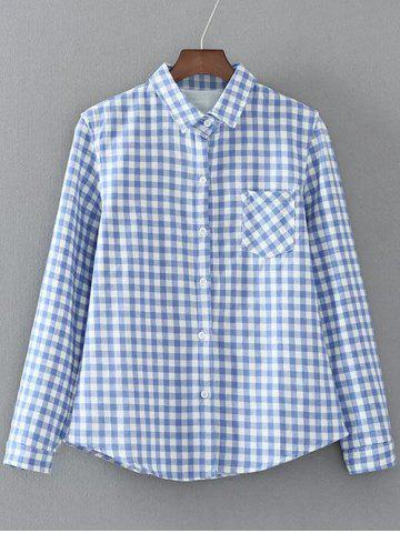 Outfits Checked Pocket Fleece Shirt