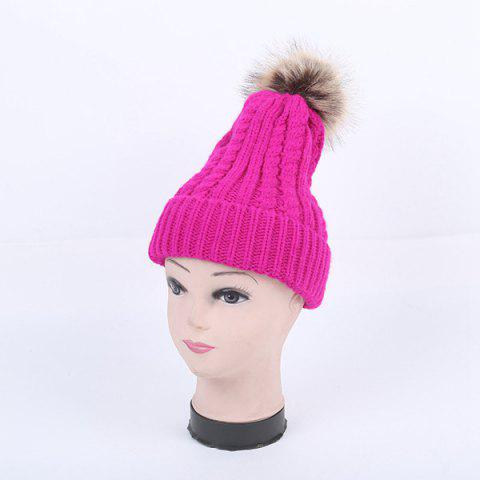 Online Winter Cable Knit Pom Hat