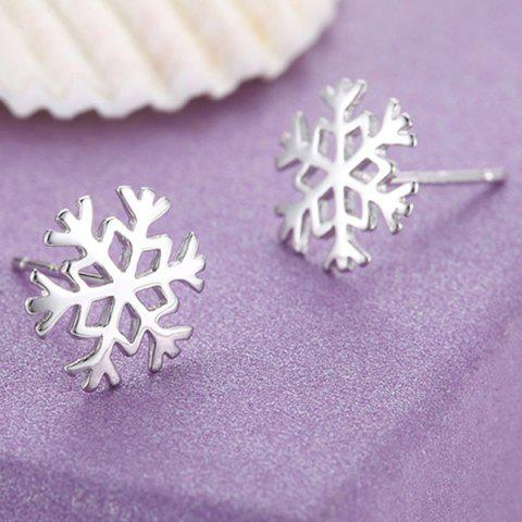 Online Snowflake Earrings