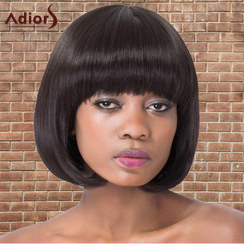 Shops Adiors Short Bob Straight Neat Bang Synthetic Wig