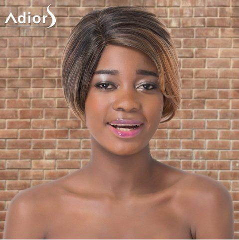 Shops Adiors Short Ombre Straight Side Parting Synthetic Wig