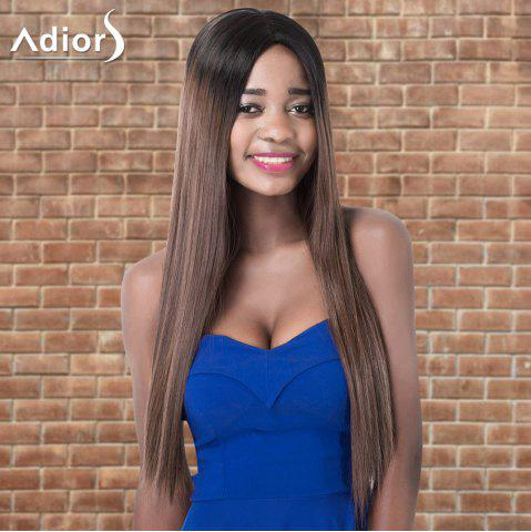 Buy Adiors Ultra Long Ombre Middle Parting Straight Synthetic Wig