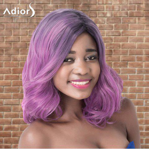 Store Adiors Medium Layered Wavy Colormix Side Parting Synthetic Wig