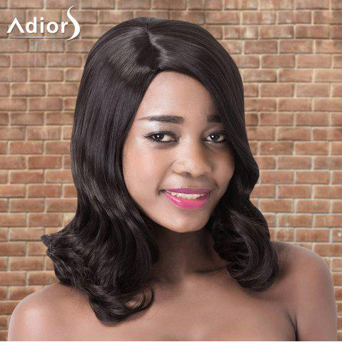 Hot Adiors Medium Wavy Side Parting Synthetic Wig