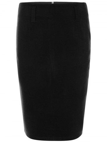 Latest Woolen Pencil Skirt