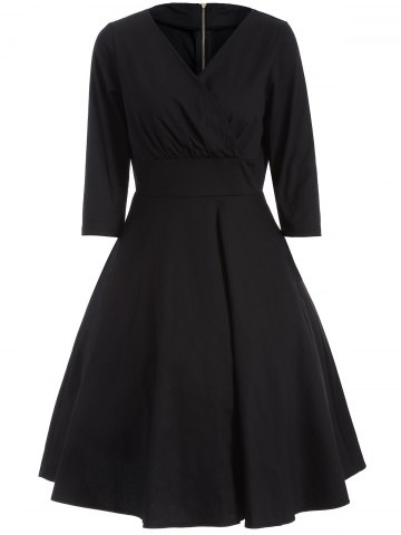 Affordable Vintage High Waist Dress