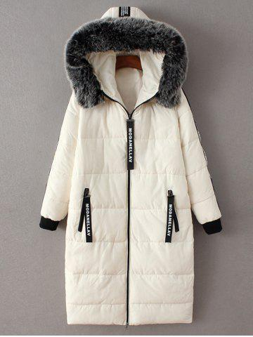 Outfits Hooded Number Padded Coat