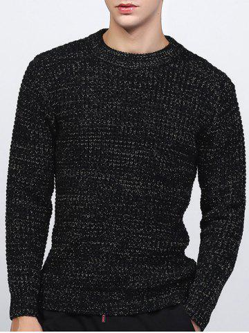 Outfit Crew Neck Texture Lurex Sweater