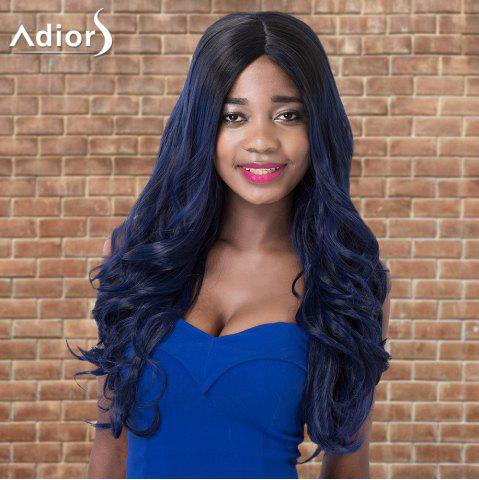 New Adiors Highlight Wavy Centre Parting Long Shaggy Synthetic Wig COLORMIX