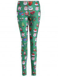 Skinny Santa Claus Leggings