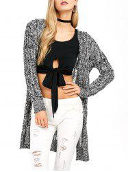 Space Dyed Cardigan -