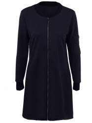 Full Zip Long Jacket -
